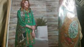 Pakistani khaddi suits