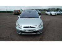 Peugeot 307 Quicksilver Eastate for sale