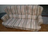 3 seater setee and chair