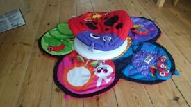 Lameze tummy time play mat