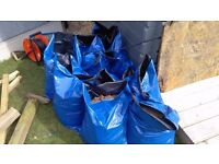 Free Bagged and ready to go top soil, 33 bags to be collected