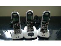 BT 4000 Cordless Phone Triple Pack