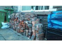 Bricks from chimney breast free to take away