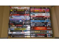 55 various original DVD Movies