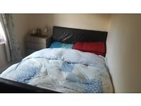 a double bed room is available for let