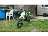 125cc PitBike swaps for a Ped