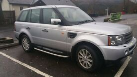 2008 Range Rover 2.7 Sport 1 Owner .may px cash either way .can be viewed in inverness or glasgow