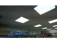 48W LED LIGHT PANEL Suspended Recessed Ceiling LED Panel White Light Office Lighting 600 X 600
