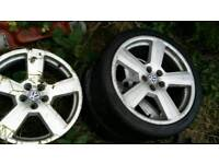 3 Rs6 alloys will sell singley 5x110