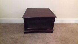 Dark Oak Corner Television Cabinet