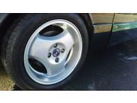"Saab 900 9000 super Aero 16"" alloy wheels and tyres"