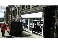 Large Double Fronted Shop in Dunfermline Town Centre To Let / May sell