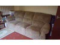 scs custom 3 seat sofa barely used-very big