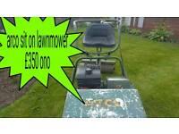 Atco sit on lawn mower