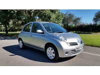 NISSAN MICRA 1240cc 57 PLATE 2007 2 FORMER KEEPER 90000 MILES FULL SERVICE HISTORY AIRCON 5 DOOR