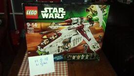 LEGO 75021 Republic Gunship *RARE RETIRED* BNISB