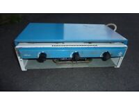 GAS BURNER AND GRILL