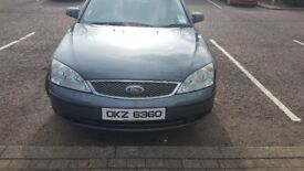 2003 Ford Mondeo Mk3 - 2.0 TDCI + Cruise control + cheap on fuel (£140) TAX