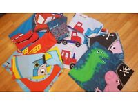 Kids 'Single size' bedding x 4