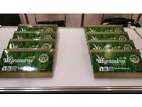 Deepfrozen wheatgrass juice