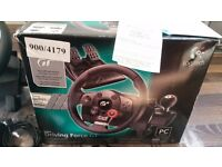 Game steering wheel Logitech driving force GT
