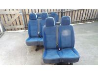 fiat scudo / Citroen dispatch / Peugeot expert seats