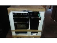 RANGEMASTER Kitchener 90 Black Dual Fuel Range Cooker ex display rrp1499