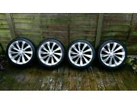 """VW 18"""" Turbine Alloy wheels (replicas) and tyres"""