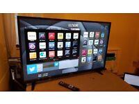 LUXOR 43 TV SUPER Smart HD TV,built in Wifi,Freeview HD, NETFLIX