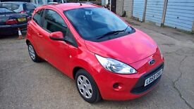 Ford Ka Style, 2010/59, 1.25 Petrol, 43000 miles, New MOT, Tax Band C, New Cambelt Kit