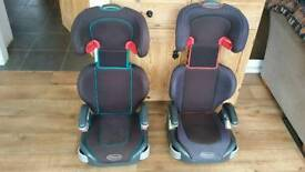 Graco booster seats with backs