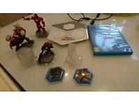 Disney Wii U infinity game and figures