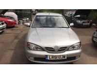 2001 Nissan Primera Active 5dr 1.8 Petrol Silver BREAKING FOR SPARES OR SALE