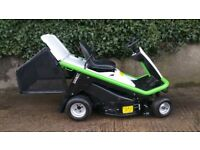 Etesia Hydro 80 MKHE-2 Ride on mower Kawasaki 15HP V-Twin lawn tractor leaf collector High power
