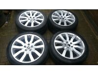 20 GENUINE SUPERCHARGER VOGUE ALLOY WHEELS VW TRANSPORTER T5 RANGEROVER