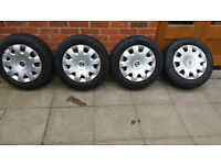 195/65R15 GoodYear about 7mm X4 winter Tyres