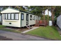Tenby Easter hols 3 bed 6 berth static caravan to rent near Tenby