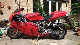 Ducati 749S 2005 9130 miles full service history