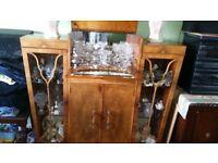 Antique china cabinet