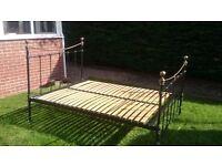 John Lewis kingsize metal bed frame