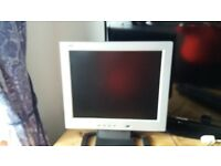 Computor flat screen monitor