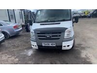 Ford transit spare parts bumper bonnet wings lights gearbox breaking