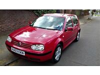2003 VW GOLF MATCH 1.6 DRIVES GREAT F.S.H. EXCELLENT CONDITION