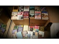 Job Lot of ~200 books, many genres. Bargain price of 50p per book but must take all in one go!