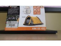 Vango Arc DS 400 in yellow