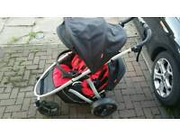 Phil & Ted Verve Double Pushchair