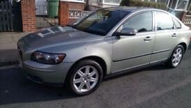 Volvo S40 1.6 Diesel for sale, Green colour 07 plate, Mileage:151,325.