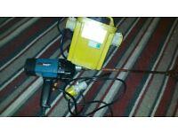 makita drill mixer model ut120-110v and transformer 110v ready to use