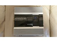 CAR AMPLIFIER KENWOOD PS201T 1000 WATT 2CH AMP FOR SUBWOOFER AS BRIDGED OR DOOR SPEAKERS AS STEREO