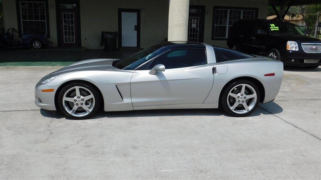 2006 Silver Chevrolet Corvette   | C6 Corvette Photo 3